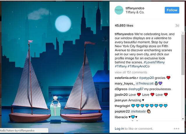 tiffany and co target audience