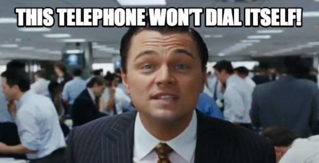 Sales Phones - Wolf of Wall Street