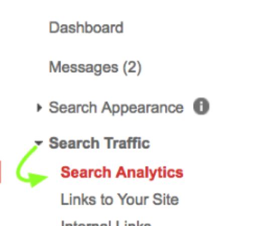 Search Traffic Google Search Console