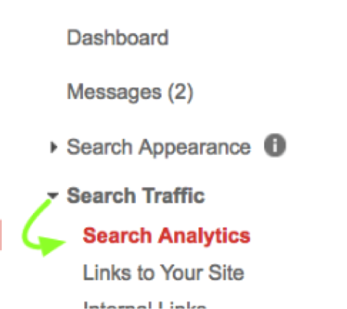 Search Traffic Google Search Console