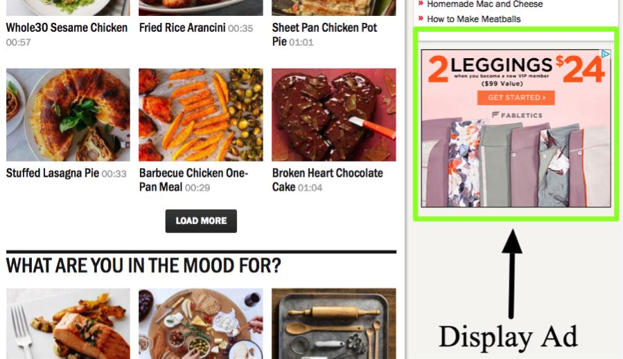Display Ad Website
