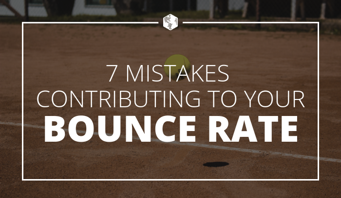 Site Bounce Rate Mistakes