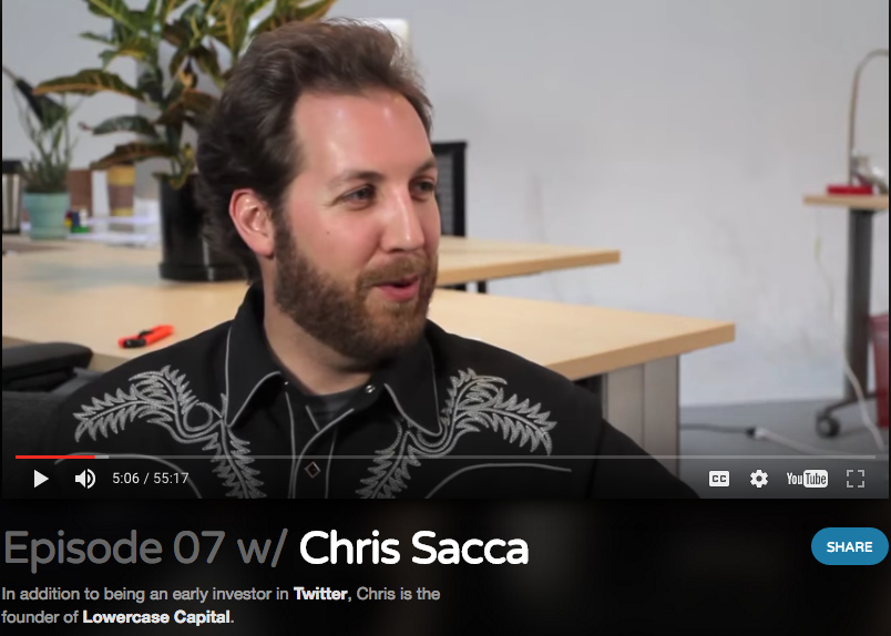Foundation podcast with Chris Sacca